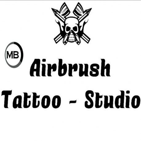 M'barki Airbrush Tattoo
